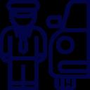 private chauffeur icon