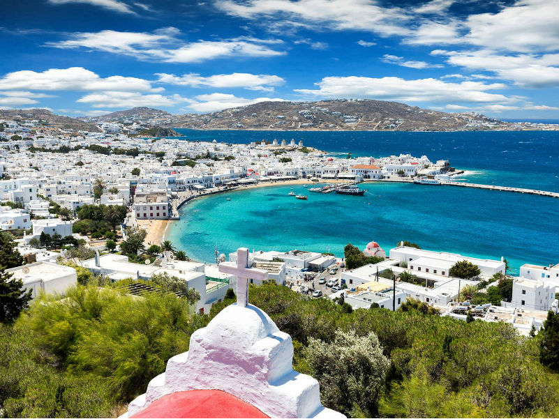 Mykonos overview - mykonos-tours